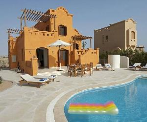 West golf villa- 3 beds- private pool – El Gouna ‎ج.م.3,000‎ -