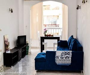Daily rent in Hurghada!!! Amazing apartment with 1 bedroom + living room