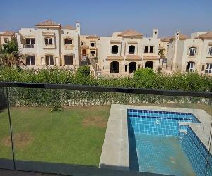 Rent villa in gardenia 2 ‎ج.م.45,000‎ - 6 October City Semi furnished
