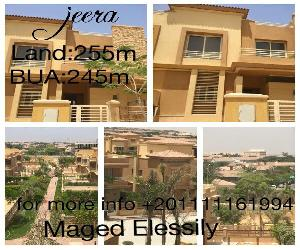 Townhouse for sale in Jeera . Prime location . Semifinished Land:255m Bua:245m