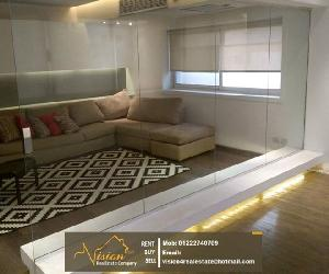 modern 4BR apartment for rent in Maadi Degla Apartment For Rent in