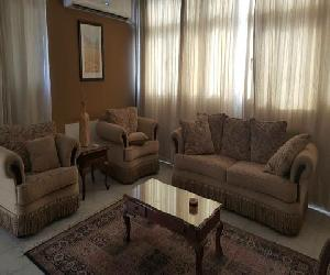 Apartment in Maadi for rent furnished with big balcony Nile view ‎ج.م.25,000‎