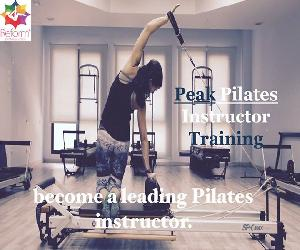 Reform Pilates Studios is once again proud to host the Peak Pilates