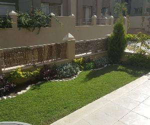 For- Rent- studio with garden- fully furnished $12,000 - New Cairo palm