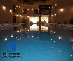 2bedrooms apartment overlooking pool for sale in elkawther $41,700 - Hurghada City