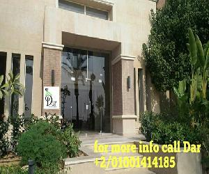 For sale in new giza finished semifurnished apartments . 280 SQM Semi