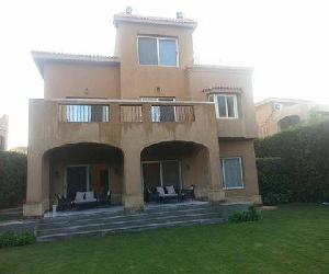 For rent in New Cairo EL Gezira compound fully finished - Two