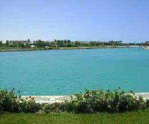 for rent villa in marina 5 1st row 4 bedrooms , swimming